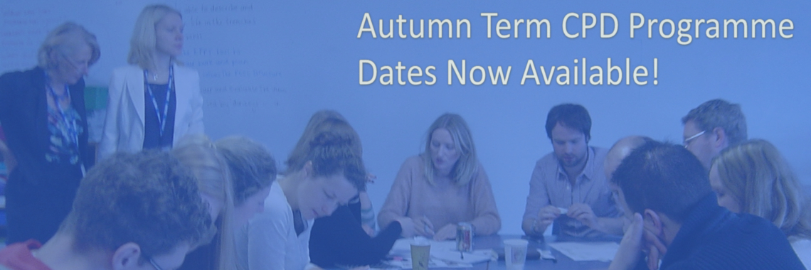 CUREE Autumn Term Workshops