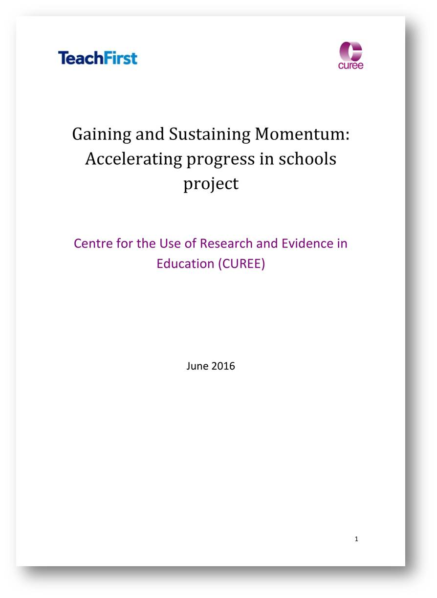 General | Centre for the Use of Research & Evidence in Education (CUREE)